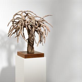 Andreu Maimó – el árbol Ein kulturelles Wahrzeichen Mallorcas – von Hand aus Ton gefertigt. Erste Unikatserie des Mallorquiners Andreu Maimó. 16 Exemplare. Maße: 55 x 52 x 50 cm
