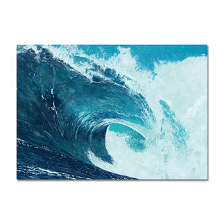 """Ingo Wegerl: """"Die Welle"""" Handüberarbeitete Leinwandedition von Ingo Wegerl. Mit 5 mm dicker Firniss. Niedrig limitiert – in zwei Größen erhältlich."""
