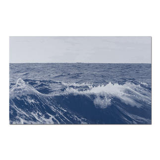Sonja Weber – Meereshorizont Gewebte Atlantikwellen: Wann wird diese Kunst in Museen erscheinen? Aufwändig gewebt. Nur 12 Unikate – exklusiv bei Pro-Idee.