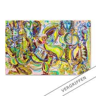 Leon Löwentraut – Carribean Flair Leon Löwentraut: Investition in ein außergewöhnliches Talent. Vierte exklusive Pro-Idee Edition des Shootingstars der deutschen Kunstszene (die ersten drei waren nach kürzester Zeit ausverkauft). 100 Exemplare.