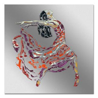 Paul La Poutré – Wild Paul La Poutré: Unikatserie – 100 % von Hand auf Edelstahl gemalt. (Die erste war nach wenigen Tagen ausverkauft.) 24 Exemplare. Exklusiv bei Pro-Idee. Maße: 100 x 100 cm