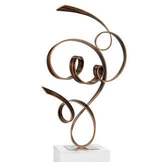 Jacinto Moros – FTK, 2020 Einzigartig: Jacinto Moros puristisch-virtuose Holzskulptur. 100 % Handarbeit. Erste Unikatserie des renommierten Künstlers. Maße: 45 x 70 x 33 cm