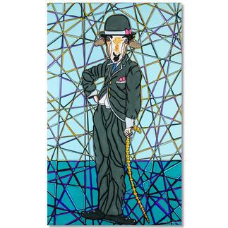 Adam Karamanlis – Chaplin Adam Karamanlis´ Werke bei Christie´s in Düsseldorf. Und nun bei Ihnen zu Hause. Handübermalte Edition. 30 Exemplare. Maße: 60 x 100 cm