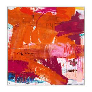 Manuela Karin Knaut – Safe Travels Manuela Karin Knaut: Erste Edition der weltweit erfolgreichen Künstlerin. Von Hand übermalt. 30 Exemplare. Exklusiv bei Pro-Idee. Maße: gerahmt 103 x 103 cm