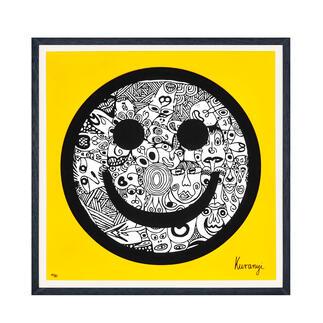 Romulo Kuranyi – Energy Romulo Kuranyi: Nach erfolgreichem Debüt nun die zweite Grafikedition des international gefeierten Künstlers. 30 Exemplare. Maße: gerahmt 70 x 70 cm