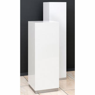 Säule So präsentieren Sie Ihre Kunstobjekte stilvoll wie im Museum. Maße: 85 x 30 x 30 cm