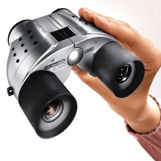 Fernglas Vektor Zoom Vergrößert bis zu 15fach.