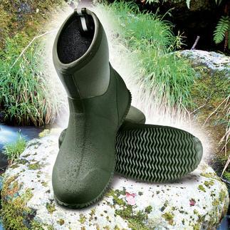 Outdoor-Boots Leichter. 100 % wasserdicht. Und immer rutschsicher.