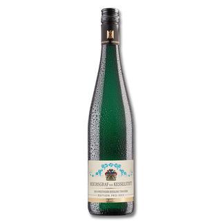 Wiltinger Riesling 2014, Reichsgraf von Kesselstatt, Morscheid, Mosel, Deutschland, Weißwein Riesling von der Saar. Speziell veredelt.