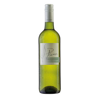 Plume Chardonnay 2015, Domaine La Colombette, Vin de  Pays des Coteaux du Libron, Frankreich Genuss ohne Reue. Nur 9 % Alkohol. Aber 100 % Genuss.