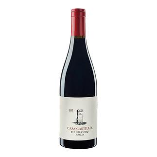 """Pie Franco 2013, Casa Castillo, Jumilla, Spanien """"… der wohl erschwinglichste Weltklassewein Spaniens."""" 97 Punkte. (Robert Parker, erobertparker.com 217, 02/2015)"""