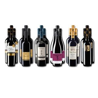 """Weinsammlung """"Die kleine Rotwein-Sammlung für anspruchsvolle Genießer Sommer 2017"""", 24 Flaschen Wenn Sie einen kleinen, gut gewählten Weinvorrat anlegen möchten, ist dies jetzt besonders leicht."""