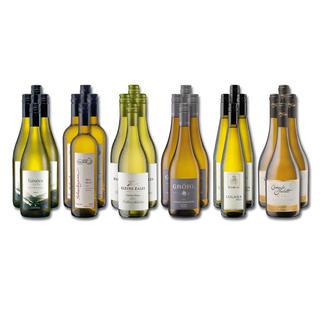 """Weinsammlung """"Die kleine Weißwein-Sammlung Winter 2017"""", 24 Flaschen Wenn Sie einen kleinen, gut gewählten Weinvorrat anlegen möchten, ist dies jetzt besonders leicht."""