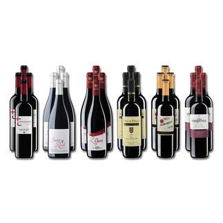 """Weinsammlung """"Die kleine Rotwein-Sammlung Frühjahr 2018"""", 24 Flaschen Wenn Sie einen kleinen, gut gewählten Weinvorrat anlegen möchten, ist dies jetzt besonders leicht."""