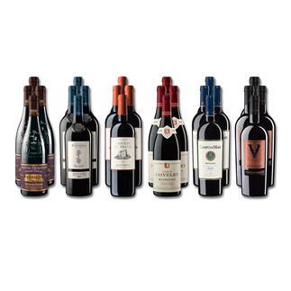 """Weinsammlung """"Die kleine Rotwein-Sammlung für anspruchsvolle Genießer Herbst 2018"""", 24 Flaschen Wenn Sie einen kleinen, gut gewählten Weinvorrat anlegen möchten, ist dies jetzt besonders leicht."""