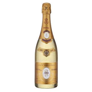 Champagne Louis Roederer Cristal 2008, Champagne, Reims, Frankreich Perfektion in jedem Detail. 100 Punkte von James Suckling.(www.jamessuckling.com, 08.01.2018)
