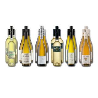 """Weinsammlung """"Die kleine Weißwein-Sammlung Winter 2018"""", 24 Flaschen Wenn Sie einen kleinen, gut gewählten Weinvorrat anlegen möchten, ist dies jetzt besonders leicht."""