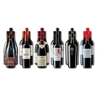 """Weinsammlung """"Die kleine Rotwein-Sammlung für anspruchsvolle Genießer Herbst 2019"""", 24 Flaschen Wenn Sie einen kleinen, gut gewählten Weinvorrat anlegen möchten, ist dies jetzt besonders leicht."""