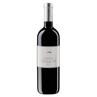 Chianti Classico Gran Selezione Casasilia 2015, POGGIO AL SOLE, Toskana, Italien Schade: Nur 9.500 Flaschen für die ganze Welt. Platin und 97 Punkte. (Decanter World Wine Awards 2019)