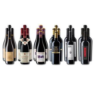 Weinsammlung - Die kleine Rotwein-Sammlung für anspruchsvolle Genießer Frühjahr 2020, 24 Flaschen Wenn Sie einen kleinen, gut gewählten Weinvorrat anlegen möchten, ist dies jetzt besonders leicht.