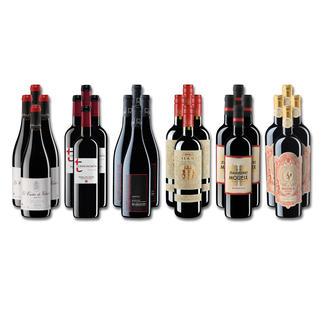 Weinsammlung - Die kleine Rotwein-Sammlung Frühjahr/Sommer 2020, 24 Flaschen Wenn Sie einen kleinen, gut gewählten Weinvorrat anlegen möchten, ist dies jetzt besonders leicht.