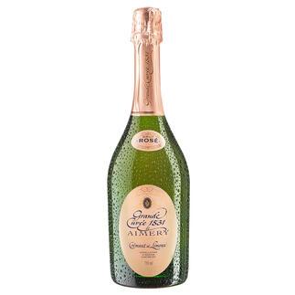 Crémant de Limoux Rosé, AOC Limoux, Sieur d'Arques, Languedoc, Frankreich Seltenheit: Der Crémant de Limoux Rosé.