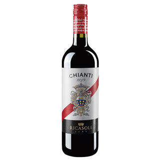 Chianti del Barone Ricasoli 2019, Toskana, Italien Ein Glück, dass dieser Chianti nicht Classico heißen darf.