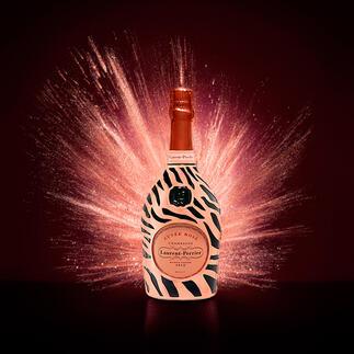 Champagne Laurent-Perrier Cuvée Rosé in Robe, Frankreich Champagner im Festgewand: der Laurent Perrier Cuvée Rosé.