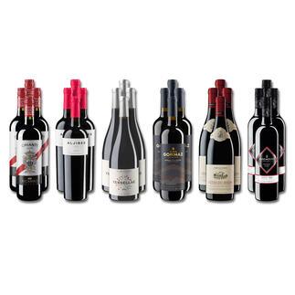 Weinsammlung - Die kleine Rotwein-Sammlung Frühjahr 2021, 24 Flaschen Wenn Sie einen kleinen, gut gewählten Weinvorrat anlegen möchten, ist dies jetzt besonders leicht.
