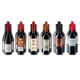 Weinsammlung - Die kleine Rotwein-Sammlung für anspruchsvolle Genießer Frühjahr 2021, 24 Flaschen Wenn Sie einen kleinen, gut gewählten Weinvorrat anlegen möchten, ist dies jetzt besonders leicht.