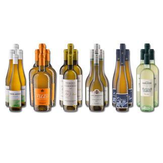 Weinsammlung - Die kleine Weißwein-Sammlung Frühjahr/Sommer 2021, 24 Flaschen Wenn Sie einen kleinen, gut gewählten Weinvorrat anlegen möchten, ist dies jetzt besonders leicht.