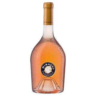 Miraval Rosé, Jolie-Pitt & Perrin, Côtes de Provence, Frankreich Der erste Rosé in der Top-100-Liste des Wine Spectators. In 37 Jahren. (Ausgabe vom 31.12.2013)