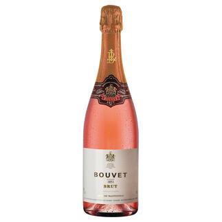 Bouvet Rosé Brut Cuveé Excellence, Bouvet-Ladubay, Saumur, Loire, Frankreich, Schaumwein Die erstaunlich erschwingliche Alternative zu den so beliebten Rosés aus der Champagne.