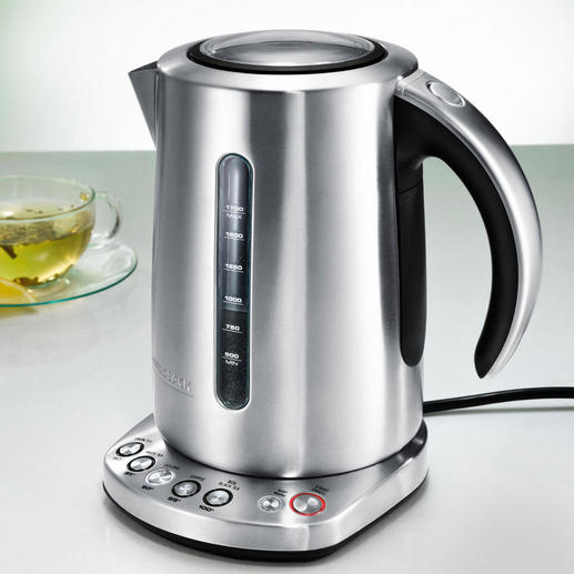 Gastroback Design-Wasserkocher mit Temperaturwahl - Der schönere Wasserkocher ist auch der bessere. Qualität vom Profi-Ausstatter Gastroback