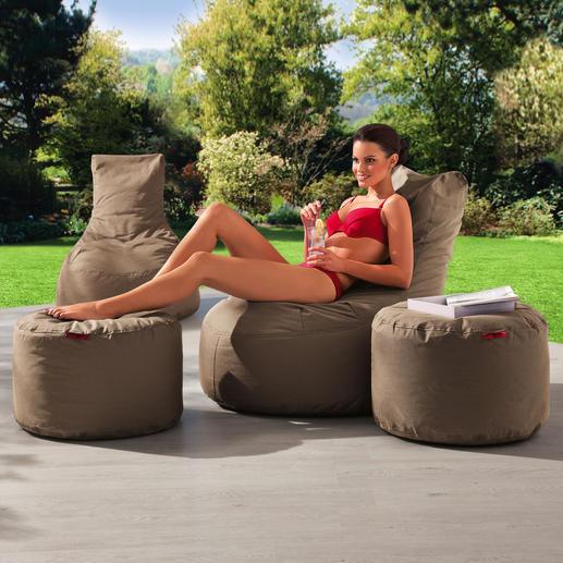 """""""Slope"""" Outdoor-Möbel Außergewöhnlich weicher Bezug – für Ihren bequemsten Outdoor-Sessel. Stylisher Blickfang."""