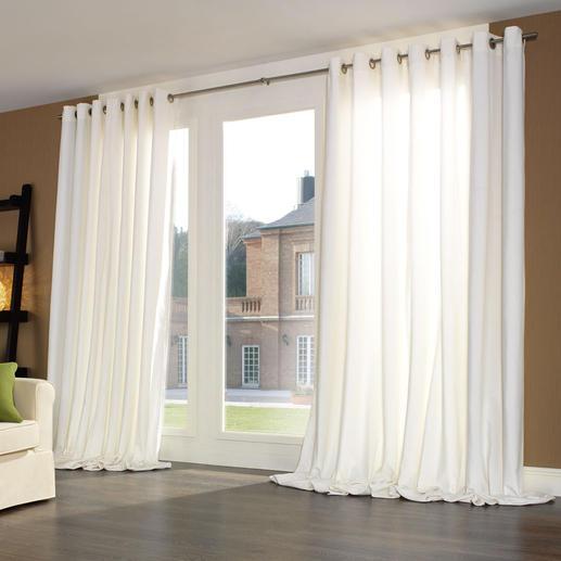 Vorhang Silent - je 1 Stück Samtweiches Spezialgewebe dämpft störenden Schall, verbessert die Raumakustik – und Ihr Wohlbefinden.