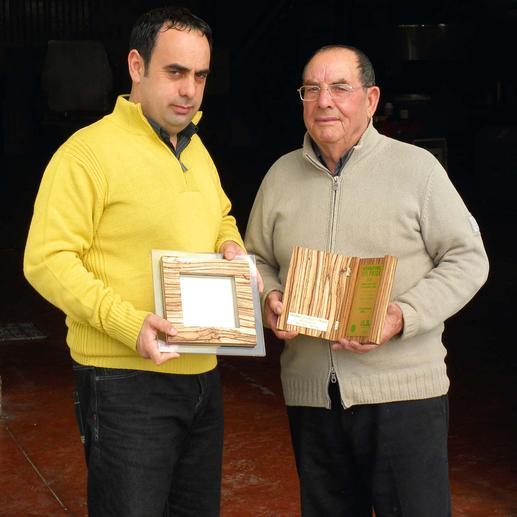 """Das Olivenöl """"Primo D.O.P Monti Iblei"""" von Salvatore und Giovanni Cutrera wird bereits seit vielen Jahren mit internationalen Auszeichnungen prämiert."""
