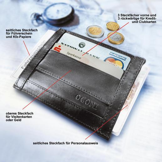 OCONI-Dokumentenbörse - Die Dokumentenbörse ist kaum größer als eine Zigarettenschachtel.