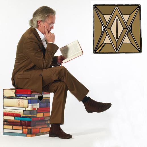"""Einfach die mitgelieferte Wabenkonstruktion einsetzen – schon trägt Ihre """"Bücherkiste"""" bis zu 200 kg."""
