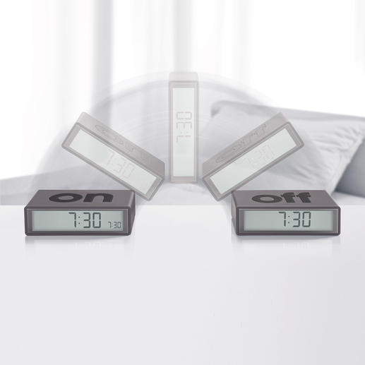 Wende-Wecker Lexon® - Der vielleicht intelligenteste und leichtest zu bedienende Wecker, den wir je gesehen haben.