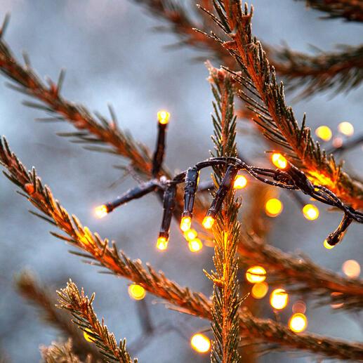 Lichterkette, warmgold