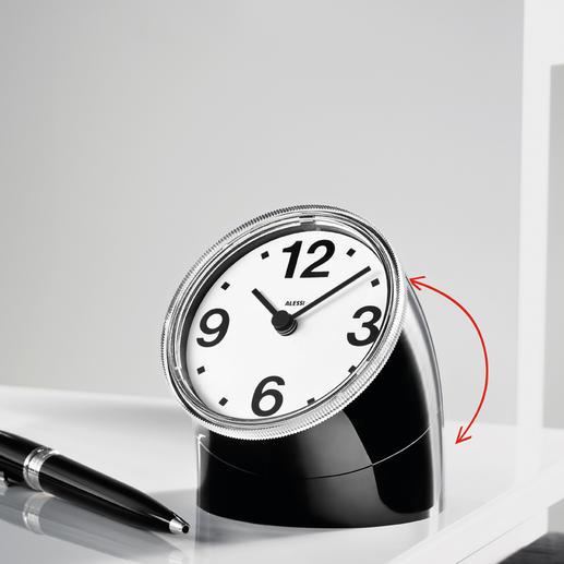 Alessi Cronotime - Die Uhren-Legende aus dem Jahr 1966. Neu aufgelegt von Alessi. Teil der Sammlung des MoMA, New York.