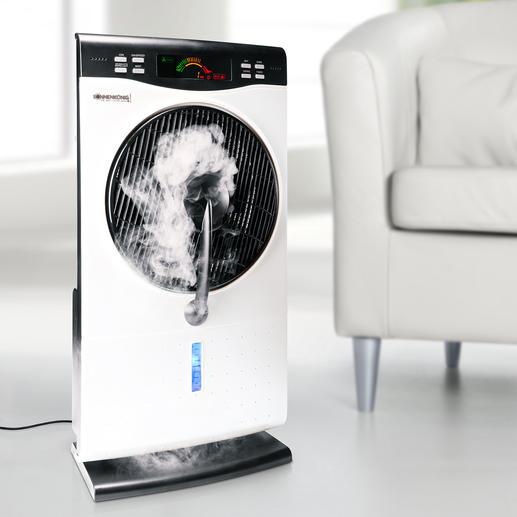 Air Fresh Nebelventilator - Das ultimative Klimawunder: kühlt, erfrischt, reinigt und befeuchtet die Luft.
