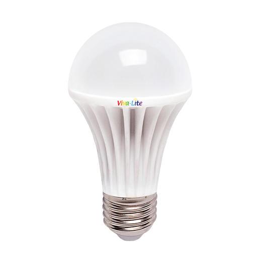 Viva-Lite® Vollspektrum-LED - Verwandelt jede E27-Lampe in eine Tageslichtleuchte. Perfekt zum Lesen und Wohlfühlen.