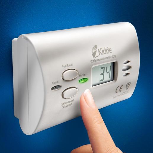CO-Alarm X10-D - Lebenswichtige Technologie von Kidde, Weltmarktführer für Kohlenstoffmonoxid- und Rauchmelder im Privatbereich.