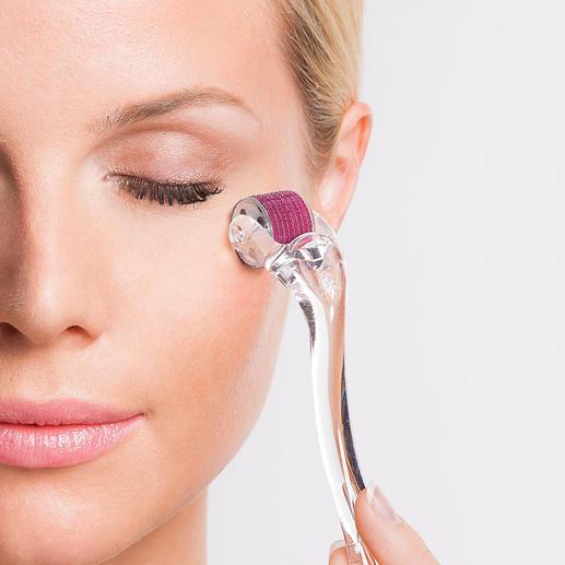 Beautyroller® Microneedling@home: der Beauty-Erfolg der Hollywood-Stars. Jetzt bei Ihnen zu Hause.