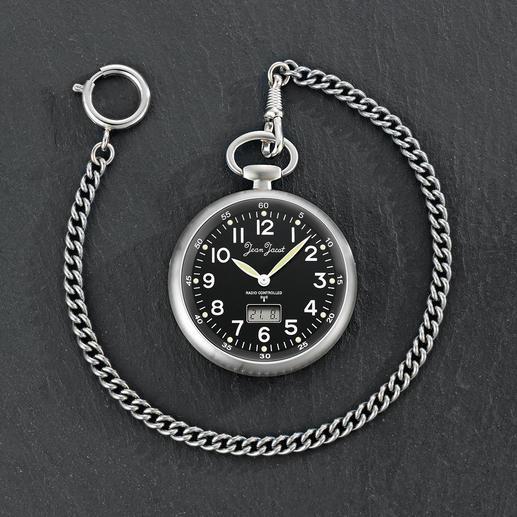 Habmann Funk-Taschenuhr - Klassische Taschenuhr. Mit moderner Funksteuerung. Aus der traditionsreichen Uhrenmanufaktur Habmann von 1923.