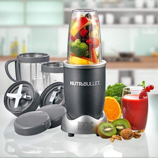NutriBullet - Verwertet Ihre Zutaten vollständig, bricht die Zellwände auf und holt alle gesunden Nährstoffe aus Obst und Gemüse.