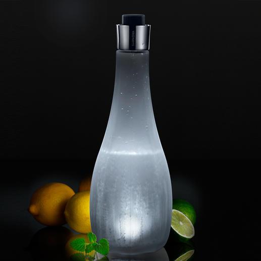 Vagnbys Licht-Karaffe - Stilvolle Wasserkaraffe und stimmungsvolle Lichtquelle in einem. Kabellos. Ein Blickfang auf jeder Tafel.