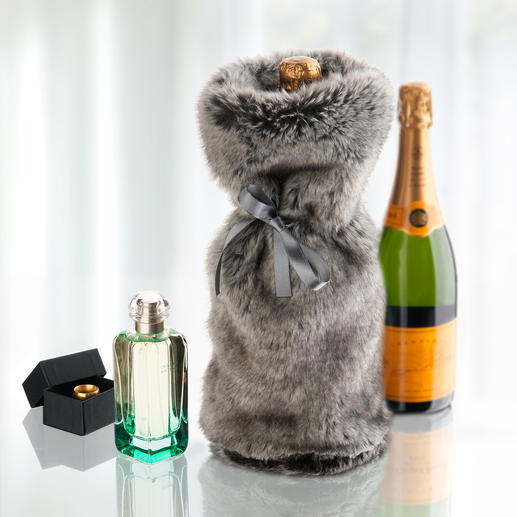 Giftbag Timberwolf - Nie war Schenken kuscheliger. Die wohl luxuriöseste Art der Verpackung: kostbarer Kunstpelz.